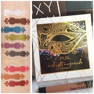PÜR Midnight Masquerade Cheek & Eye Palette